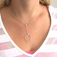 drop-necklace-silver-handmade-lariat