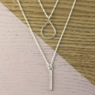 AJ409_double_drop_necklace_ayana_jewellery
